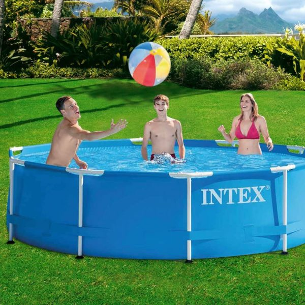Intex-28202NP-Piscina-redonda-Metal-Frame